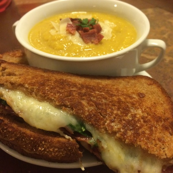 roasted butternut squash soup moms bistro fall recipes easy soup