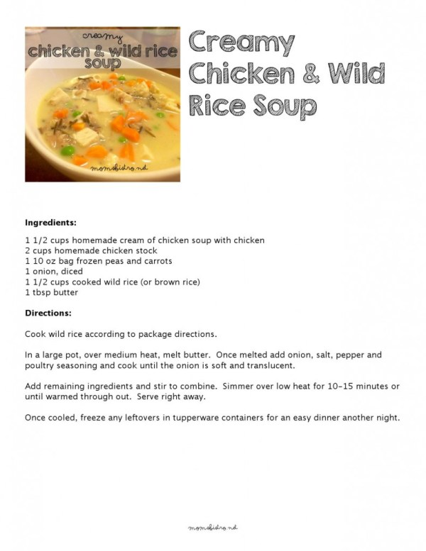 Creamy Chicken and Wild Rice Soup_000001