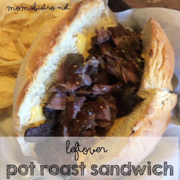 crockpot pot roast recipe roast beef sandwich slow cooker pot roast sandwich moms bistro
