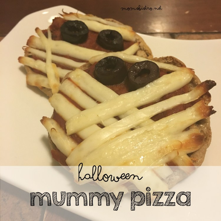 halloween mummy pizza moms bistro recipe halloween food english muffin pizza