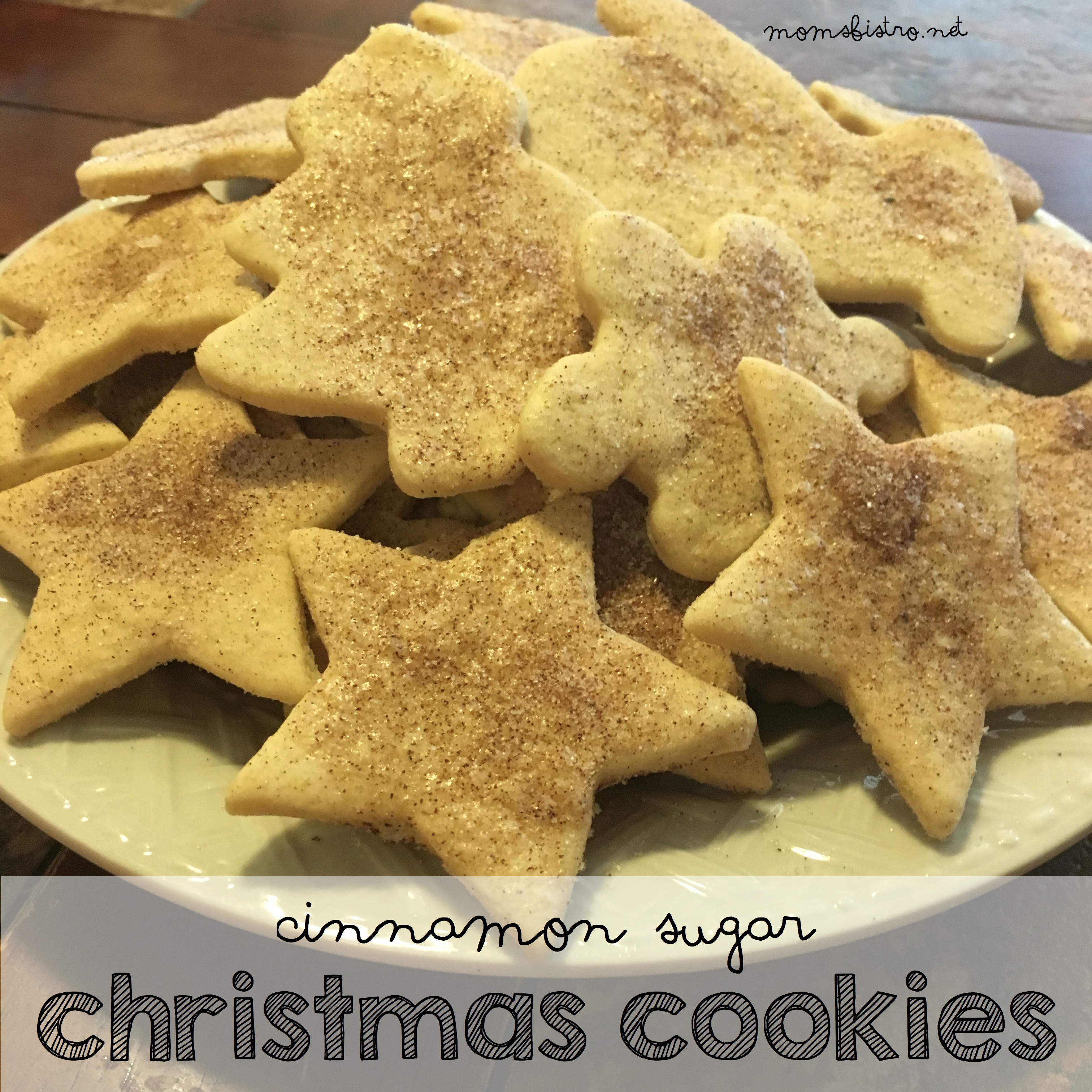 Celebrate National Cookie Day With These Cinnamon Sugar Christmas