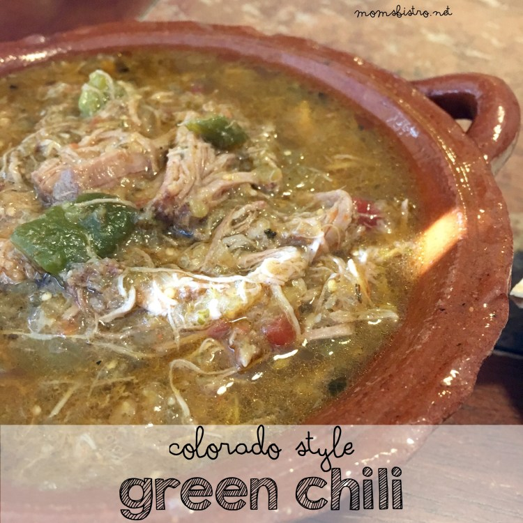 Colorado Style Green Chili