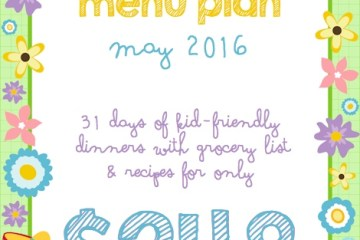 May Menu Plan