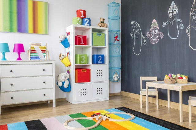 Clever kid's storage ideas for busy moms