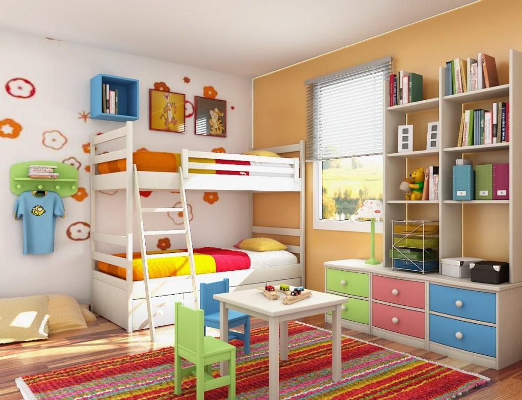 organize kids bedroom