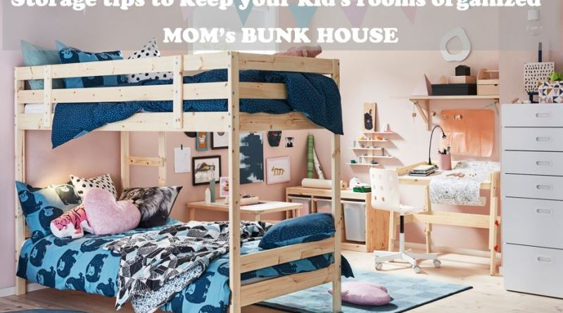 organize your kids' room