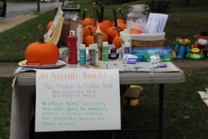 Fundraising Yard Sale with a Twist
