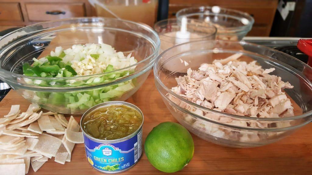 White Chicken Chili Ingredients