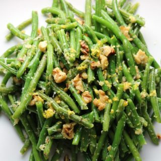 Lemon Garlic Green Beans momsdinner.net