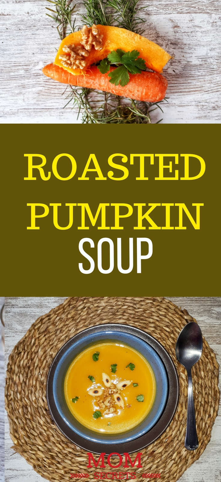 Roasted pumpkin soup is glúten-free, dairy-free, vegan, low carb, paleo and keto recipe. Easy to make and also healthy; it is a perfect appetizer or a perfect meal.