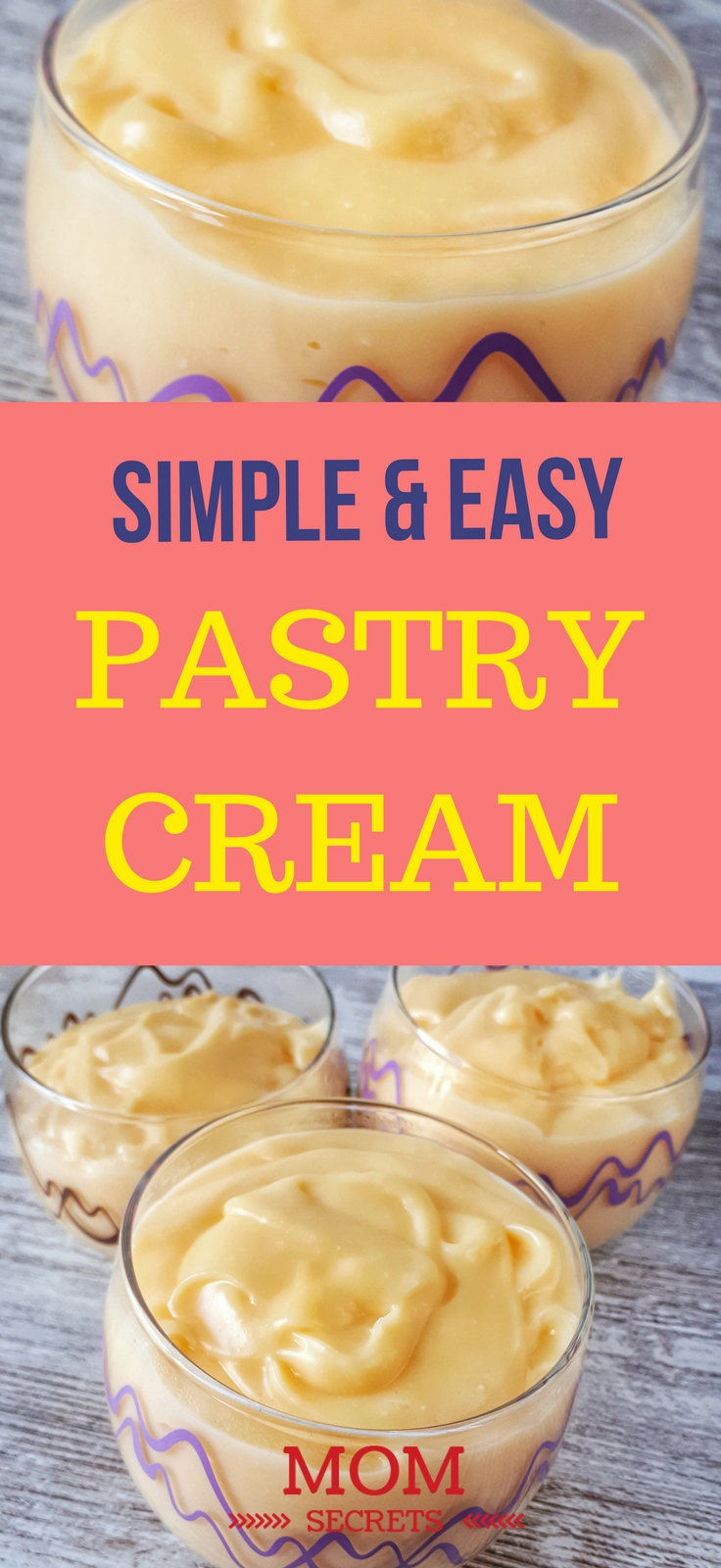 This is a pastry classic that everyone must know how to do it. This custard cream or vanilla custard cream recipe is unbelievably quick and easy to make.