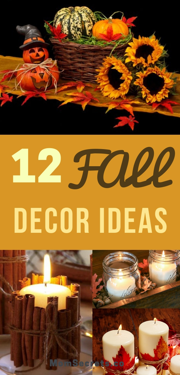 The summer it´s almost ending... Lets say hello to autum with this 12 beautifull ideas to decorate your home- from preatty wreats to dinner decor.