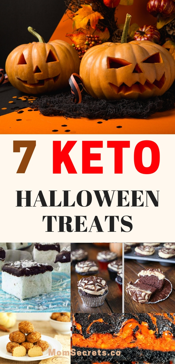 Keto Halloween Recipes. I show you 7 Keto-friendly Halloween Treats, sugar-free and low carb, that are so easy to make and taste amazing... My choice was made thinking about what our kids love to eat on this holiday.