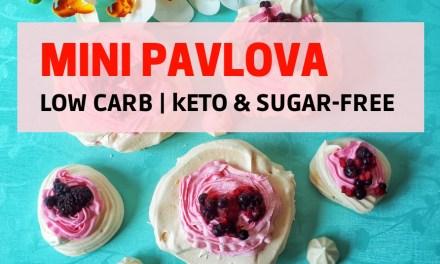 Keto & Sugar-Free Mini Pavlova