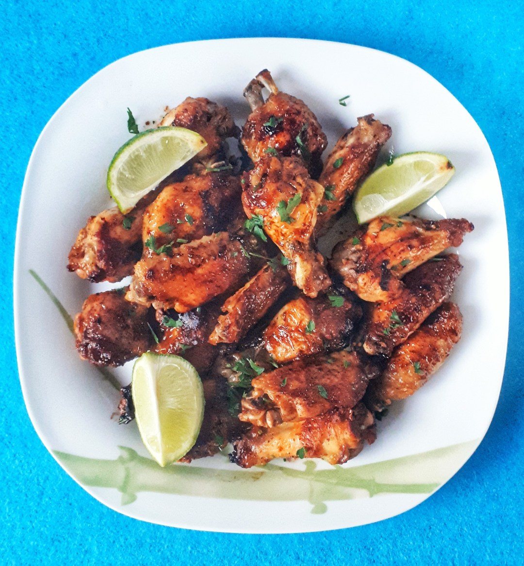 Baked Keto Chicken Wings are sweet, spicy and crispy. They are paleo and keto friendly. These wings are fantastic!!!