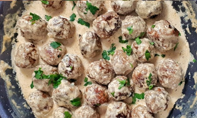 Keto & Low Carb Swedish Meatballs