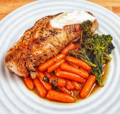 This oven baked pork tenderloin is the best keto, whole30 healthy weeknight dinner.Seasoned with an amazing rub, the taste will melt in your mouth!!