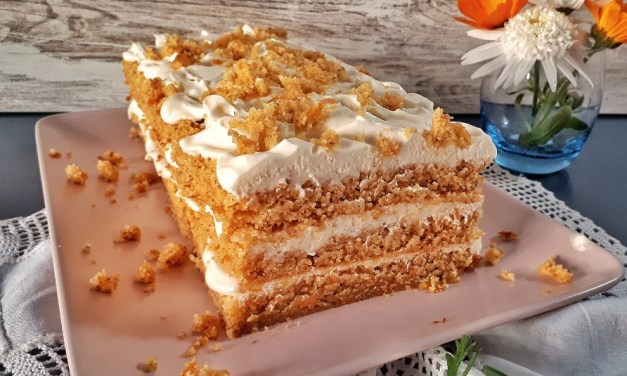 Keto Carrot Cake with  Mascarpone Frosting – Easter Dessert