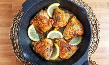 Lemon Butter Chicken Thighs – Keto & Whole30