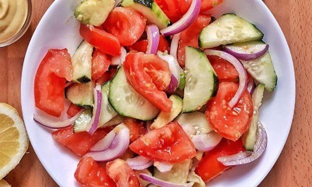 Cucumber Tomato Salad – Keto, Low Carb & Whole30