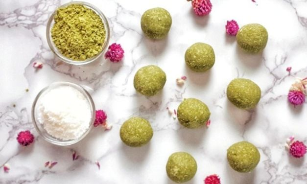 Matcha Coconut Balls – Keto & Vegan Recipe