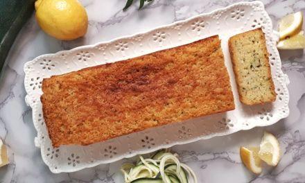 Keto Zucchini Lemon Bread