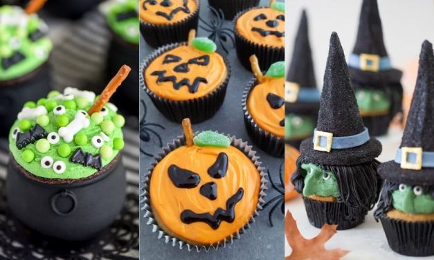 12 Scary Easy Decorated Halloween Cupacakes Ideas