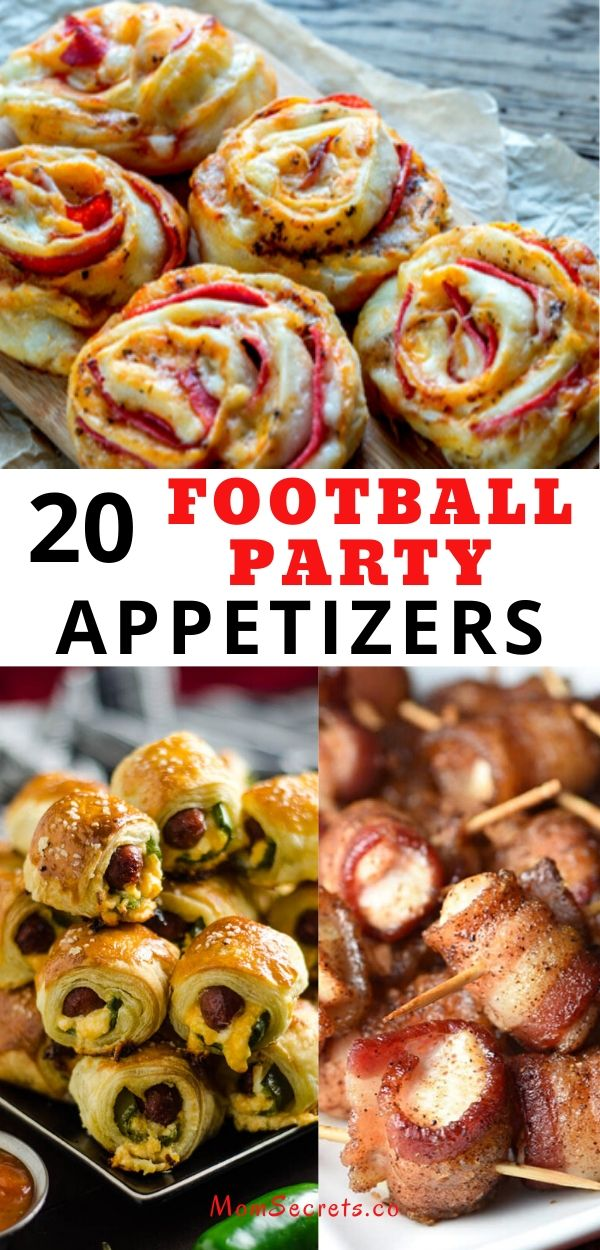 Searching for the perfect appetizer for the Superbowl football game or any other game day? You've come to the right place.