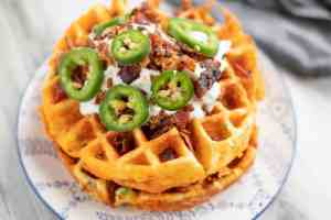These keto Chaffle recipes are the best! Check out these 16 amazing keto chaffle recipes that are savory, for dessert, or breakfast!