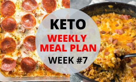 Weekly Keto Meal Plan – Week #7