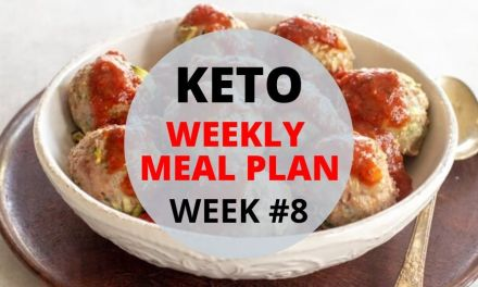 Weekly Keto Meal Plan – Week #8