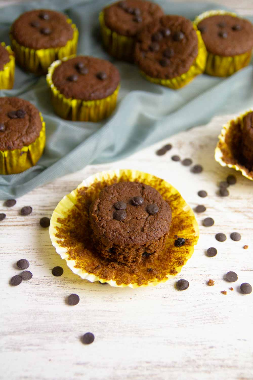 Keto Mocha Chocolate Chip Muffins, an easy muffins recipe to make in a few steps. Best for breakfast, tea time or any other time you crave for sweet.