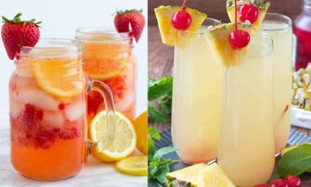 12 Summer Cocktail Recipes (Non-Alcoholic & Alcoholic)