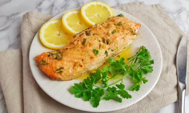 Best Baked Salmon with Garlic Dijon – Keto Low Carb Dinner