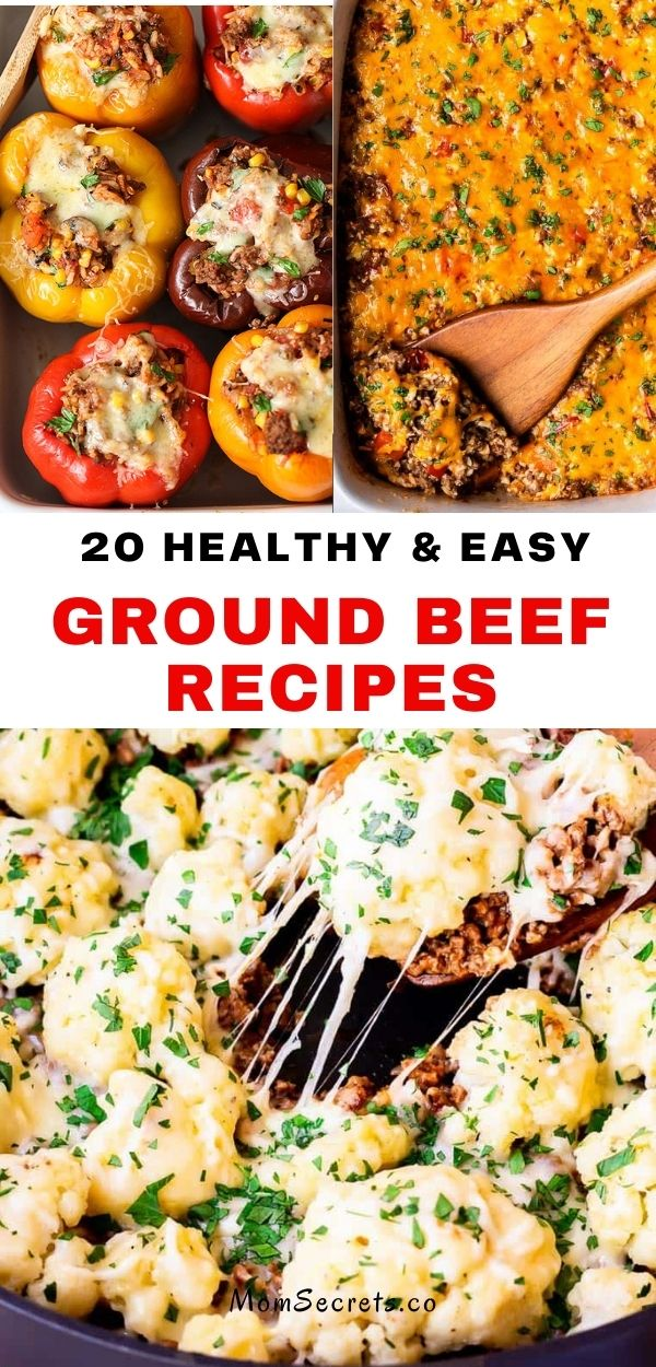 Looking for a super easy dinner that uses up ground beef? Try one of our favorite healthier beef mince recipes that are so interesting and delicious! #groundbeef #healthydinner #easydinner #lowcarb