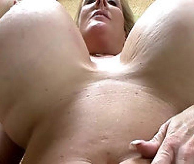 Voluptuous Blonde Cougar With Enormous Fake Tits Enjoys Rough Fucking