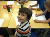 A real first grader.