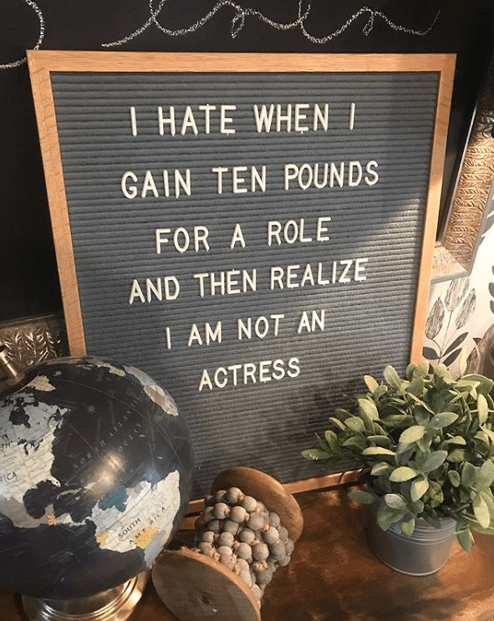 Funny Board Quotes : funny, board, quotes, Clever, Letter, Board, Quotes, You'll, Thought