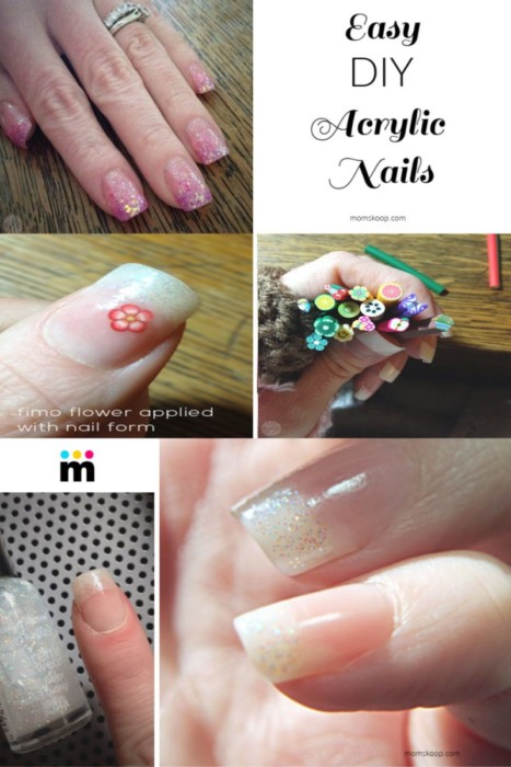 Can You Paint Fake Nails : paint, nails, Easiest, Acrylic, Nails, Comfort, MomSkoop