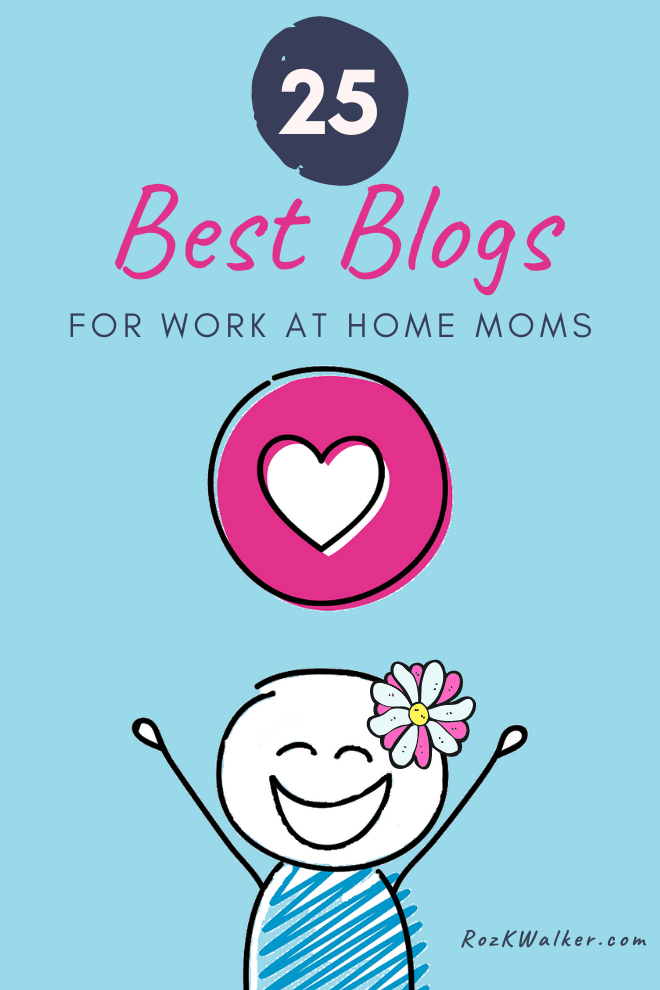 work at home mom blogs