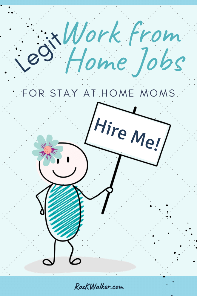 Legit Work at Home Jobs for Mom