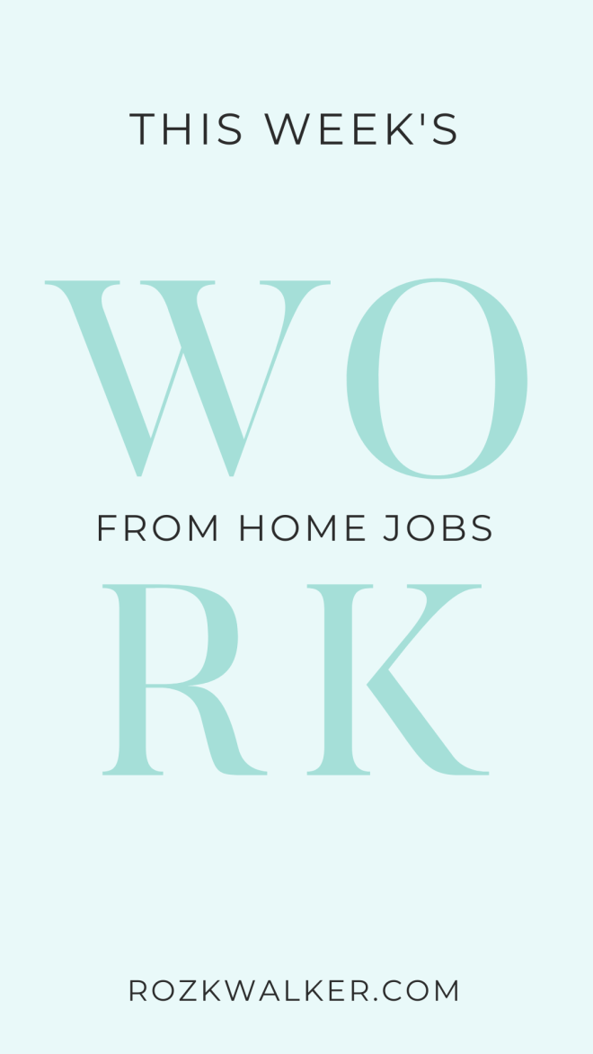 Are you a mom who wants to earn money from home? Here are three of my favorite sources of legitimate at-home jobs for moms.