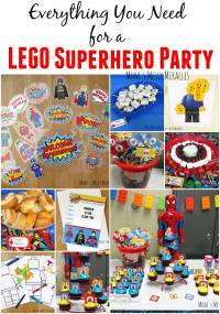 LEGO Superhero Party
