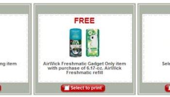 target more than 30 new printable coupons