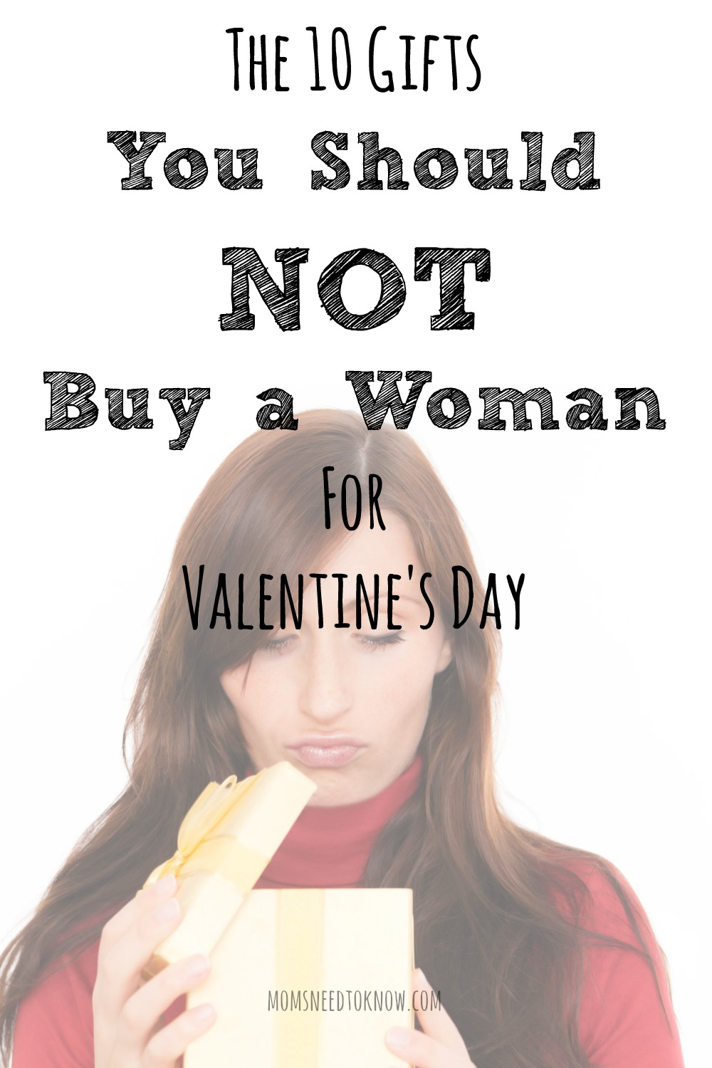 The 10 Gifts You Should Never Buy A Woman For Valentineu0027s Day
