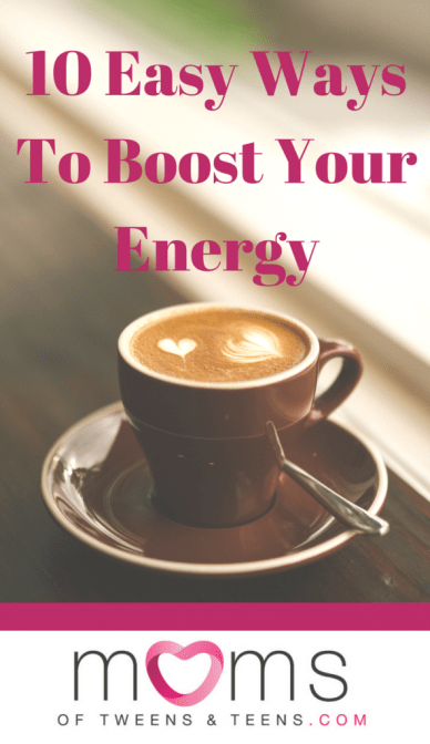 mom boost your energy
