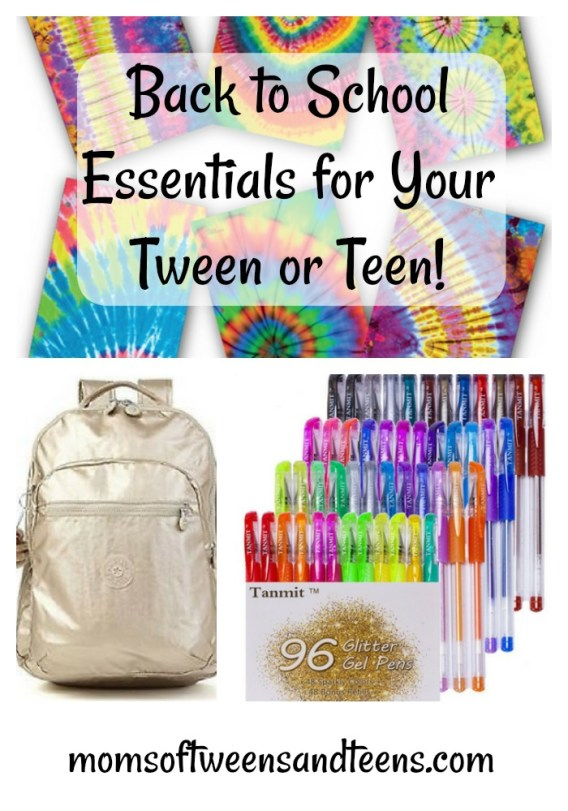 back to school supplies tween