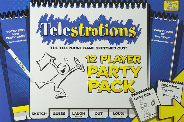 best family board games telestrations
