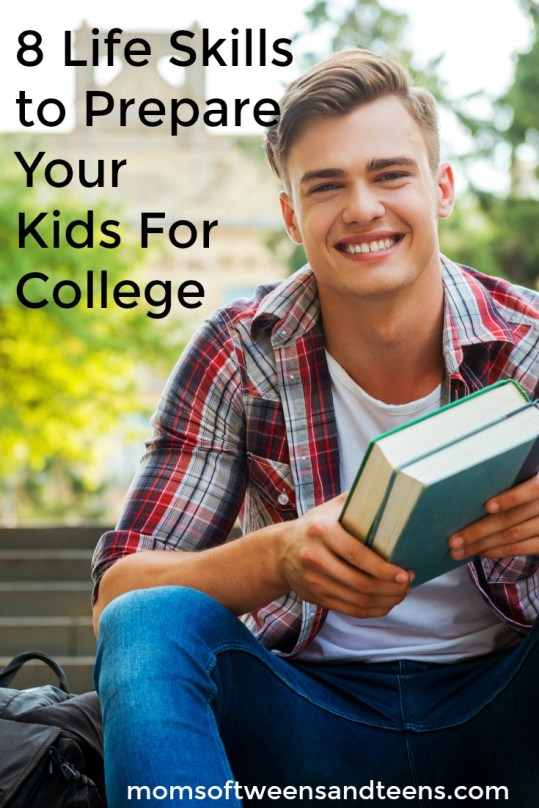 life skills prepare for college