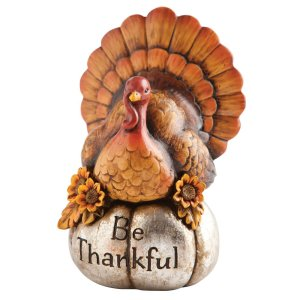 Be Thankful Turkey Centerpiece